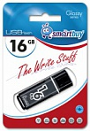 USB Flash 16 GB Smart Buy Glossy (Цвет: Black)